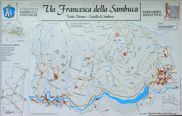 Percorso Via Francesca della Sambuca