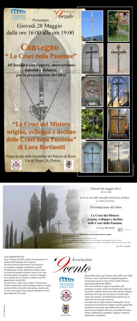 Invito e locandina Congresso Croci della Passione