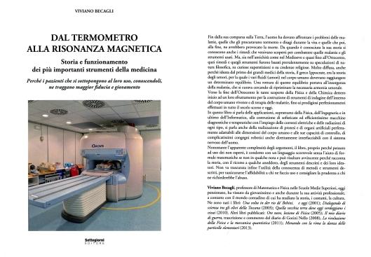 Dal termometro alla risonanza magnetica