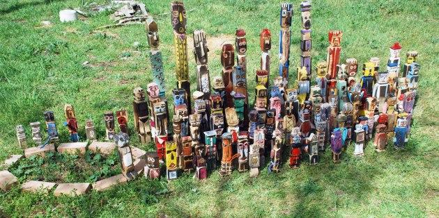 dalla terra degli spiriti alla terra delle origini arte tribale a serravalle pistoiese filippo biagioli gio'o doll ancestor figure guardian reliquiary