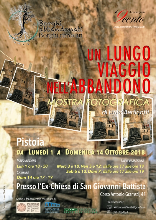 Locandina Mostra Pistoia - exChiesa S. Giovanni